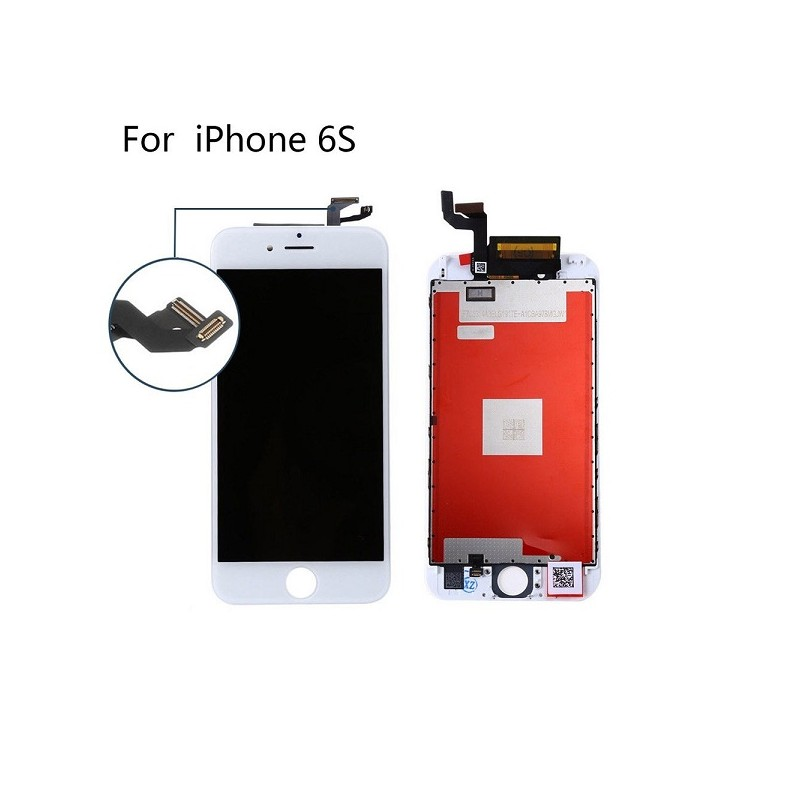 APPLE DISPLAY IPHONE 6S White con touch+frame