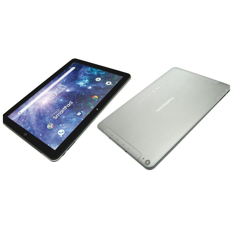 MEDIACOM TABLET SmartPad 10 Eclipse Nerp 10.1 HD Quad Core RAM 2GB Memoria 16GB + Slot MicroSD Wi-Fi - 4G Fotocamera 2Mpx Androi