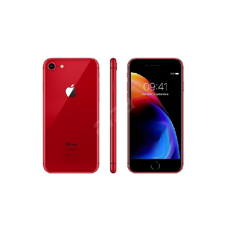7e8b7e3094237 APPLE DUMMY IPHONE 8 RED TELEFONO FINTO PER ESPOSIZIONI VETRINE