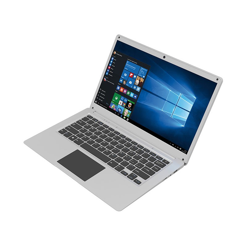 MEDIACOM SMARTBOOK 145  14,1 HD Intel Celeron N3550 RAM 4GB SSD 128GB USB 3.0 BT 4.0 Slim Case Windows 10 64bit