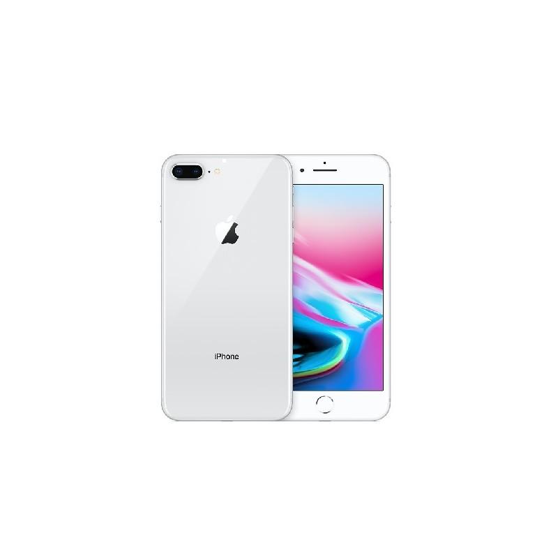 APPLE IPHONE 8 PLUS 64GB Silver Ricondizionato Grado A+ Con Scatola (Cuffie Jack 3,5)GAR. APPLE RESIDUA 5-10 MESI