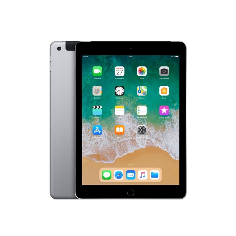APPLE IPAD 9,7 128GB MR722 Cellular Wifi EU Grey 2018