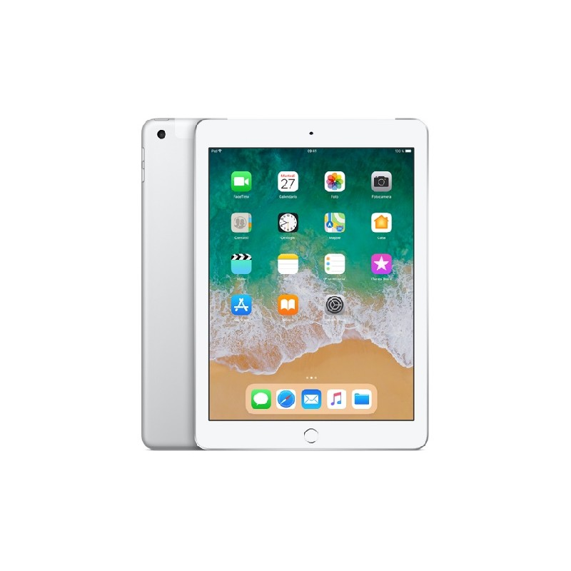 APPLE IPAD 9,7 128GB MR732 Cellular Wifi EU Silver 2018