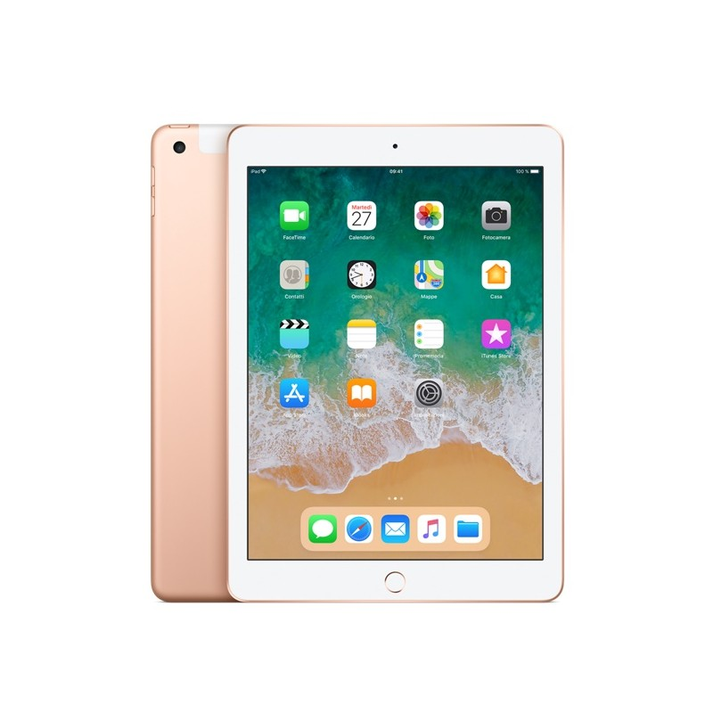APPLE IPAD 9,7 128GB MRM22 Cellular Wifi EU Gold 2018