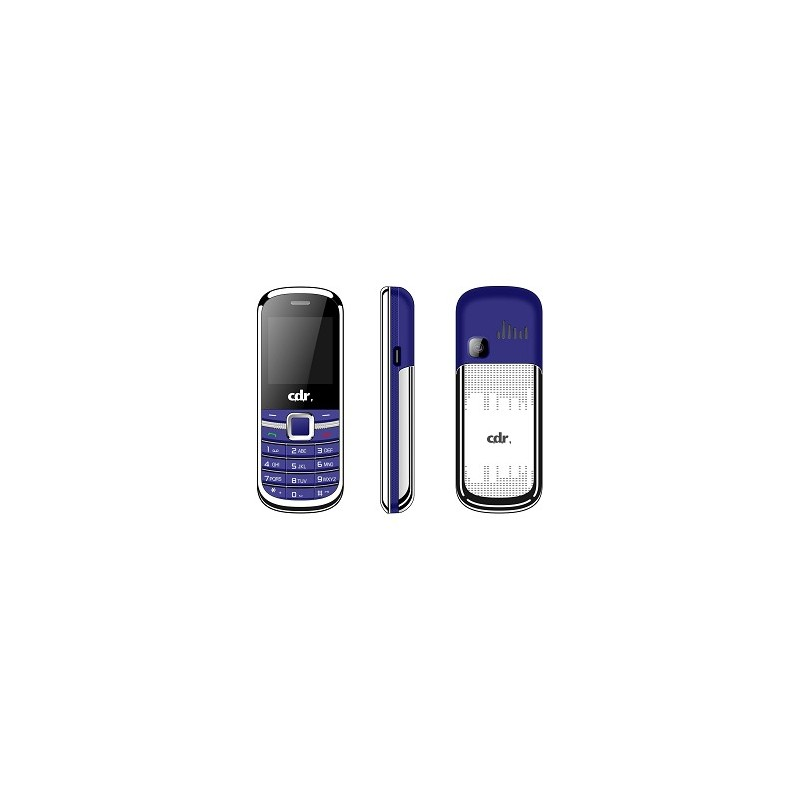 CDR MF01 POCKET MINI PHONE Blue Dualsim, Fotocamera, Radio FM, Bluetooth, Slot Memoria, Sveglia