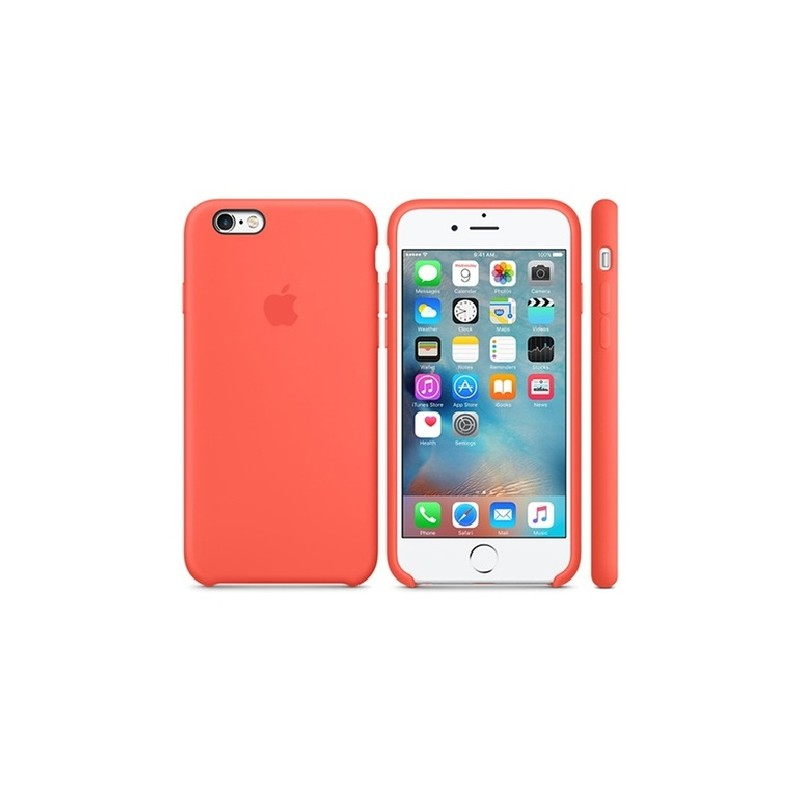 APPLE Cover in Silicone per iPhone 6s Arancione