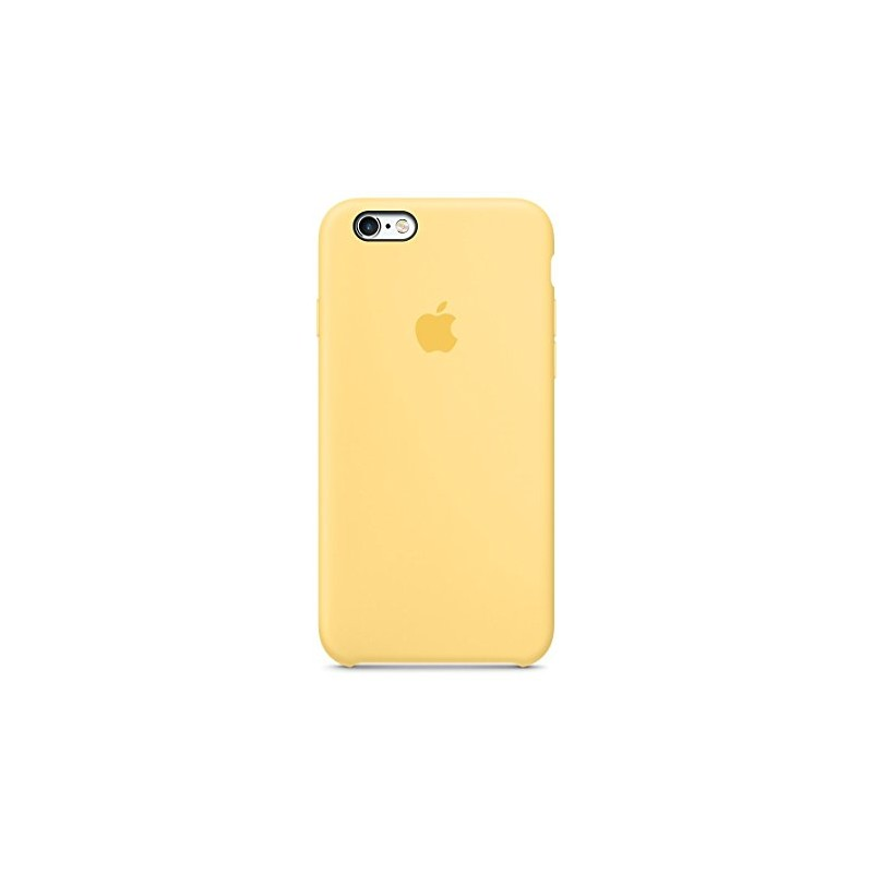 APPLE Cover in Silicone per iPhone 6s Giallo