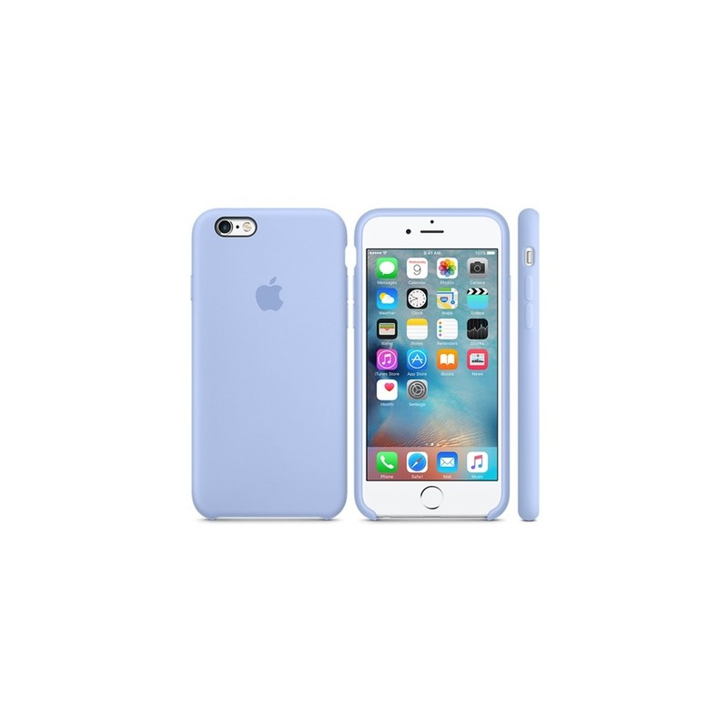 APPLE Cover in Silicone per iPhone 6s Lavanda