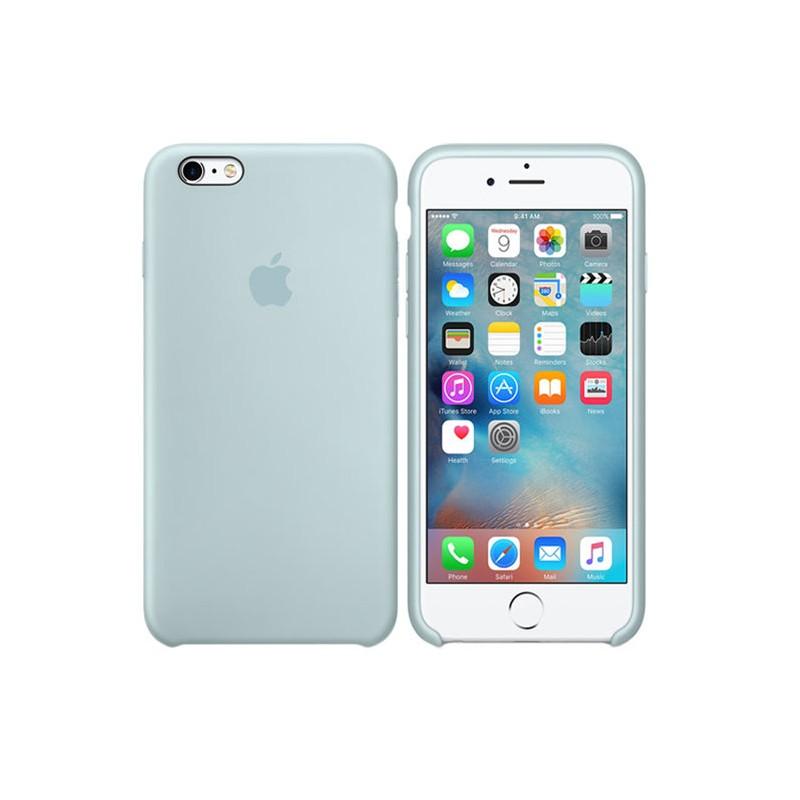 APPLE Cover in Silicone per iPhone 6s Plus Verde Acqua