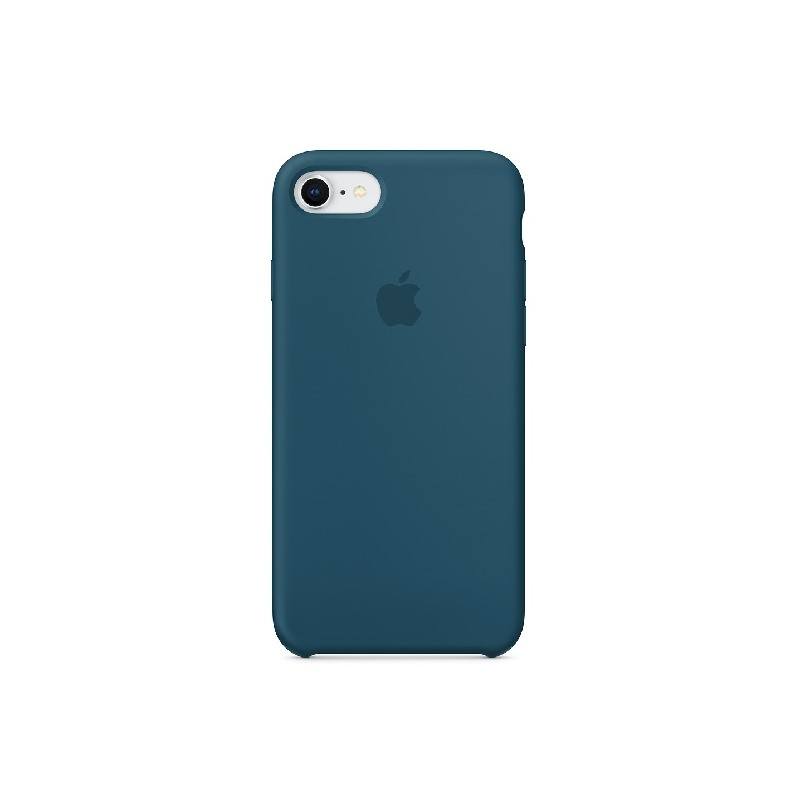 APPLE Cover in Silicone per iPhone 7 / iPhone 8  Blu Cosmo
