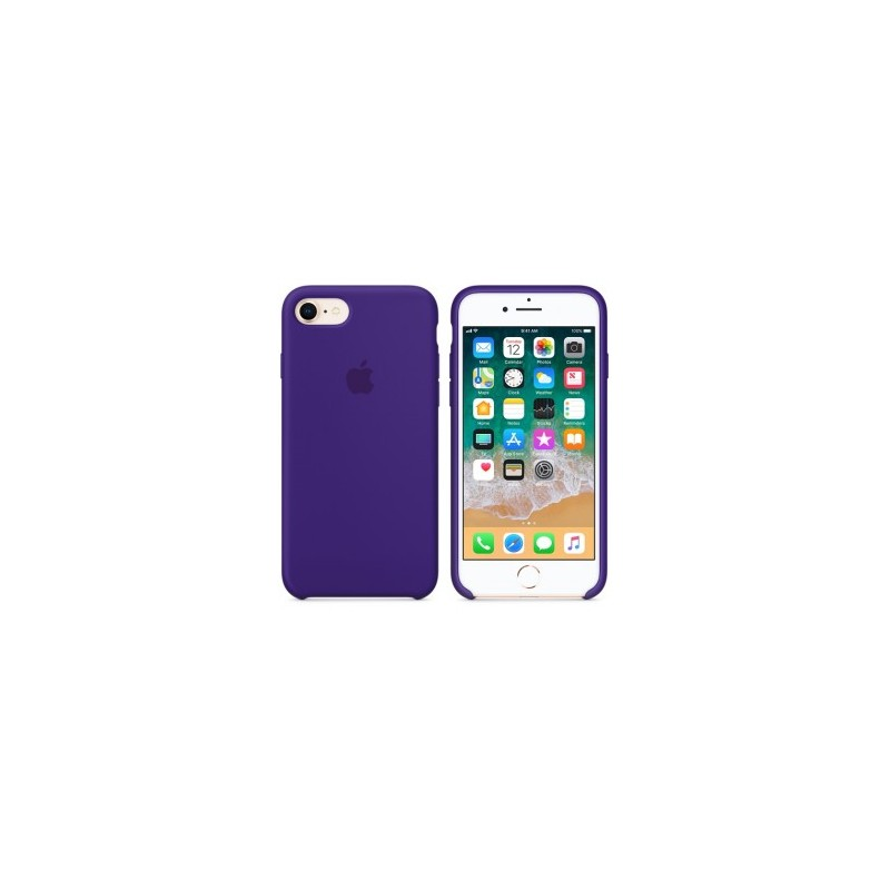 APPLE Cover in Silicone per iPhone 7 / iPhone 8  Viola