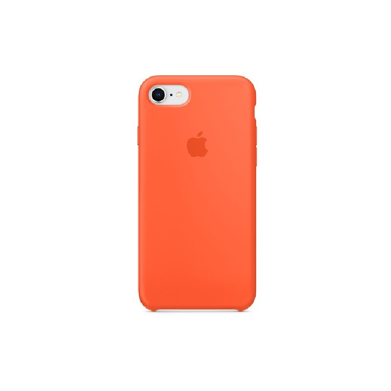 APPLE Cover in Silicone per iPhone 7 / iPhone 8 Arancione