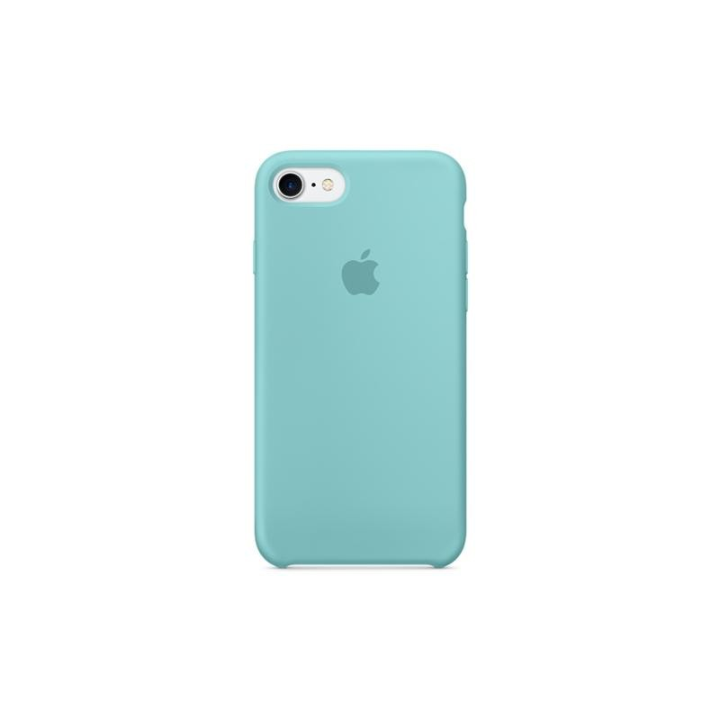 APPLE Cover in Silicone per iPhone 7 / iPhone 8 Verde Acqua