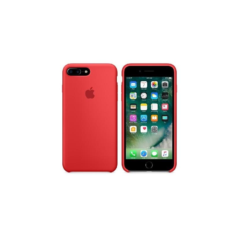 APPLE Cover in Silicone per iPhone 7 Plus  / 8 Plus  Rosso