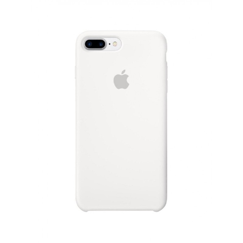 APPLE Cover in Silicone per iPhone 7 Plus / 8 Plus  Bianco