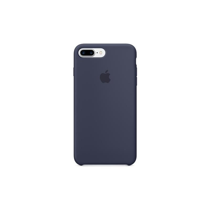 APPLE Cover in Silicone per iPhone 7 Plus / 8 Plus Blu Notte