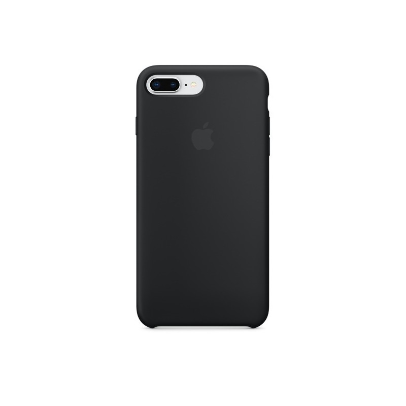 APPLE Cover in Silicone per iPhone 7 Plus / 8 Plus Nero
