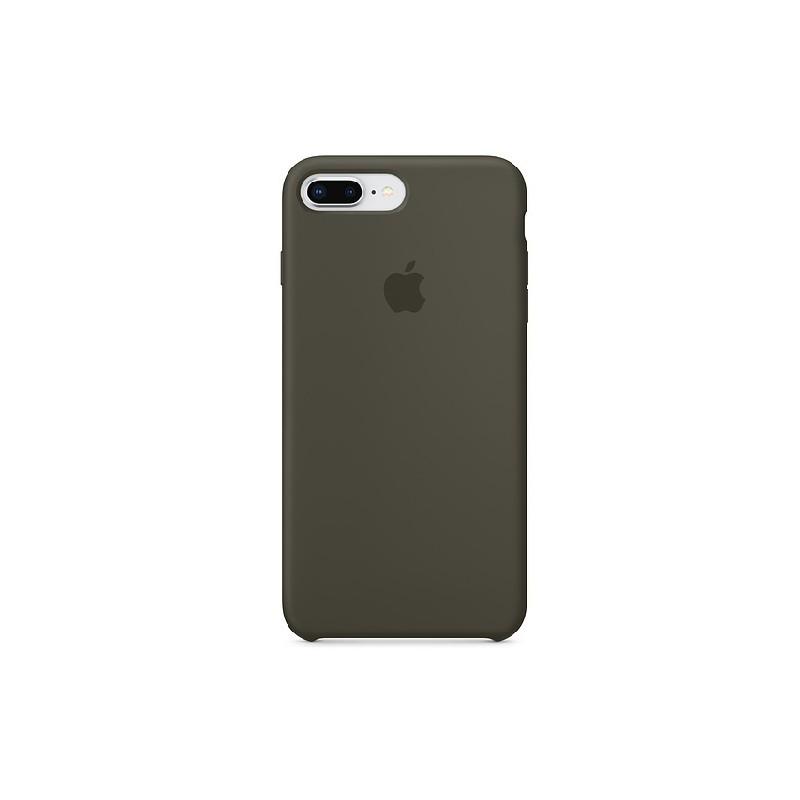 APPLE Cover in Silicone per iPhone 7 Plus / 8 Plus Verde Oliva