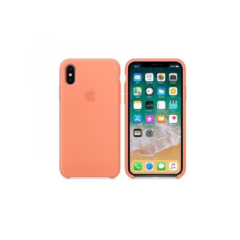 APPLE Cover in Silicone per iPhone X Pesca