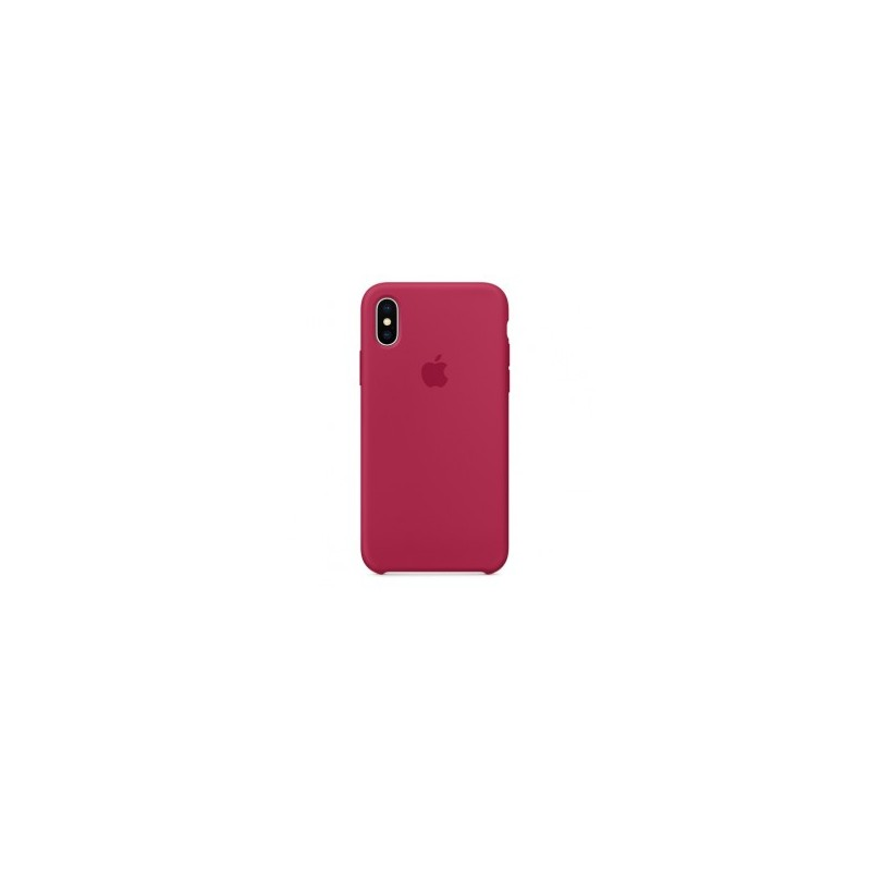APPLE Cover in Silicone per iPhone X Porpora