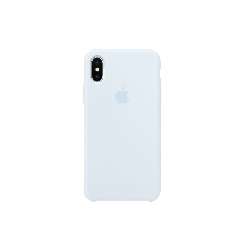 APPLE Cover in Silicone per iPhone X Sky Blue