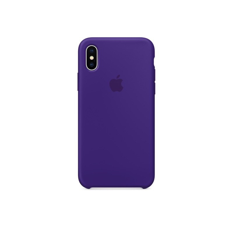 APPLE Cover in Silicone per iPhone X Ultra Viola