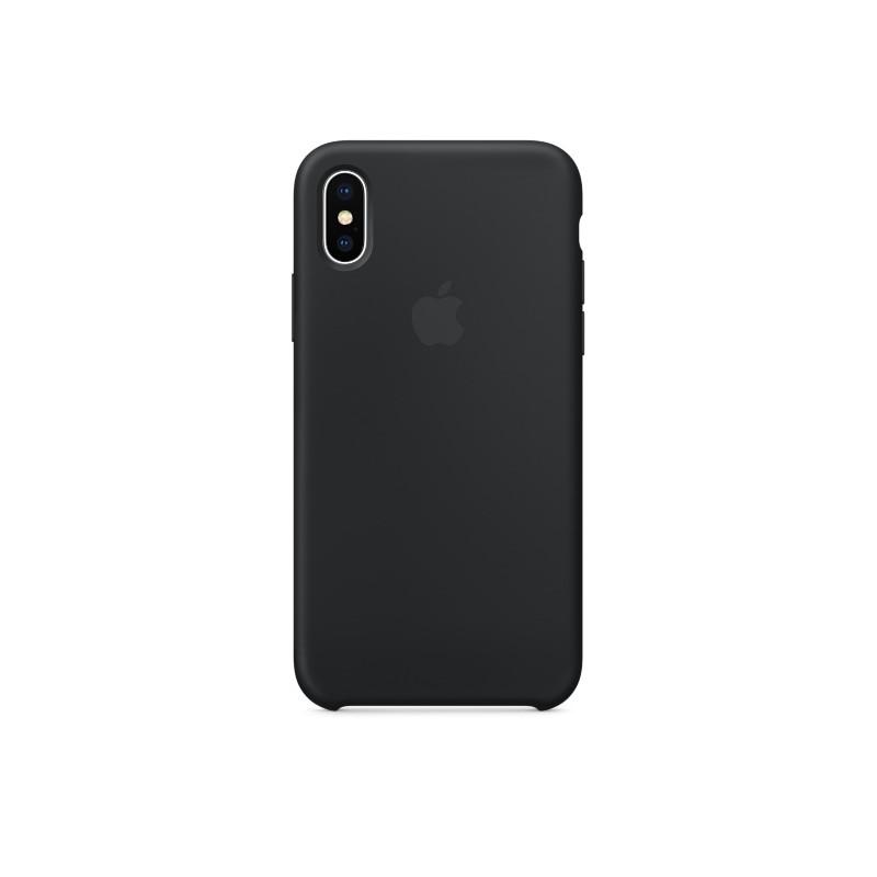 APPLE Cover in Silicone per iPhone Xs Max Nero