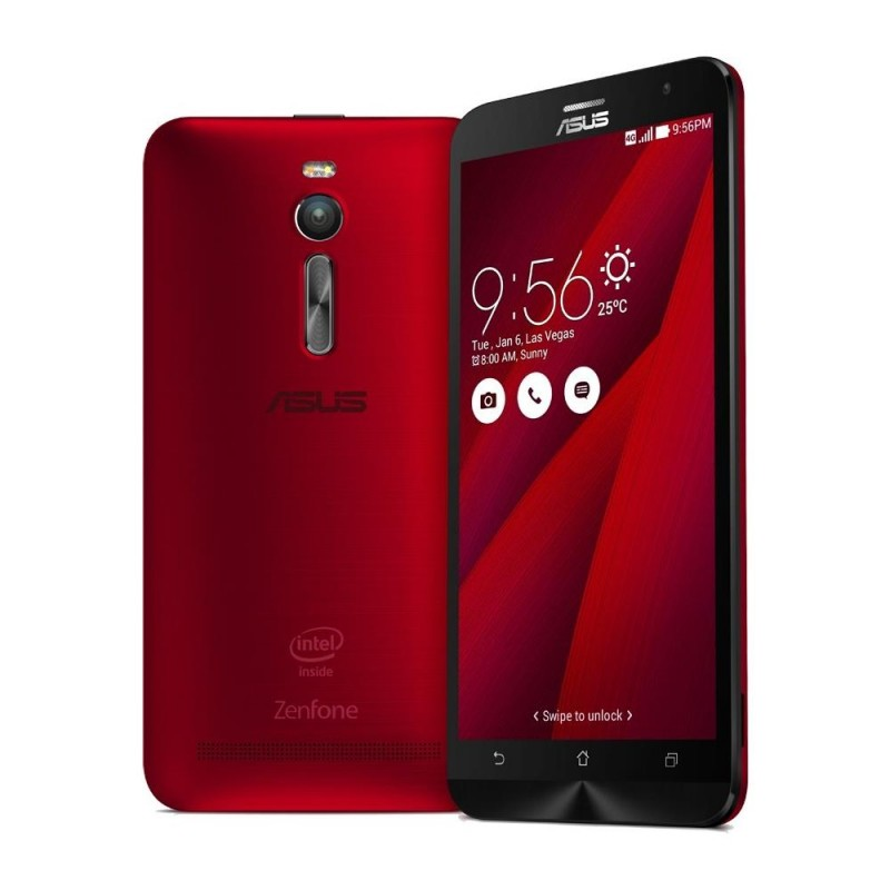 ASUS ZENFONE 2 32GB IT LTE RED ZE551ML DUALSIM 5.5''
