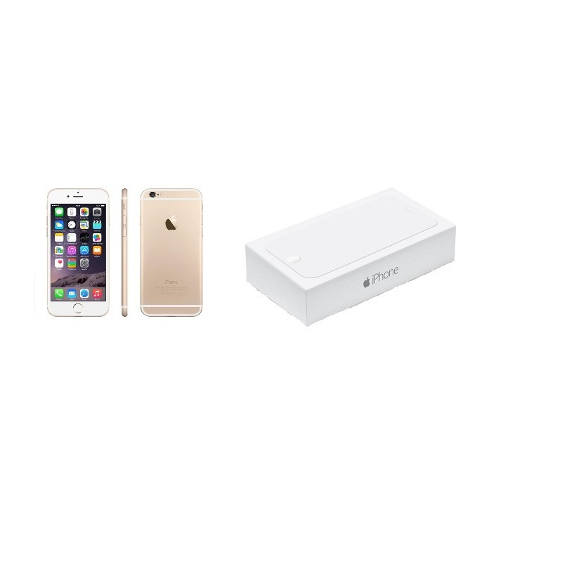 APPLE IPHONE 6 128GB Gold Ricondizionato Grado AB  Con Scatola
