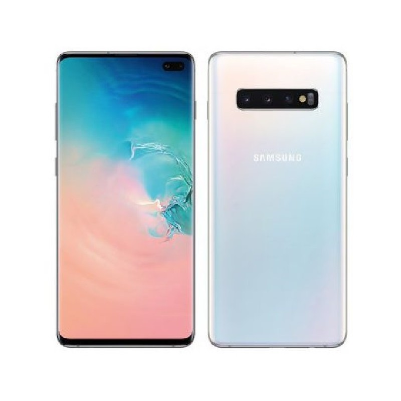 SAMSUNG S10+ G975F DualSim 128gb Vodafone Prism White