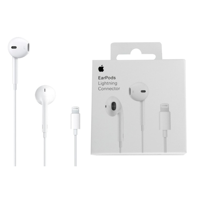 APPLE AURICOLARI MMTN2ZM/A Connettore Lightning Con Blister
