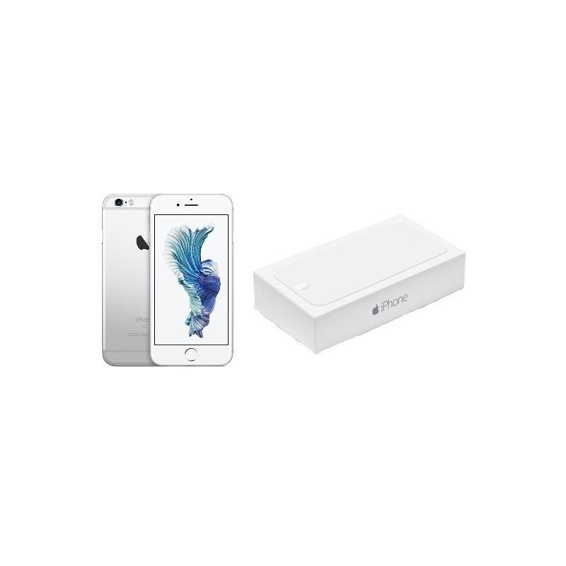 APPLE IPHONE 6S 128GB Silver Ricondizionato Grado AB Con Scatola