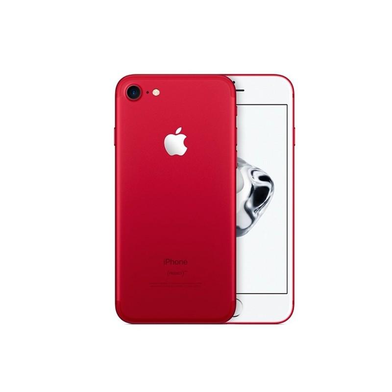 APPLE IPHONE 7 PLUS 128GB Red Ricondizionato Grado A+ Con Scatola (Cuffie Jack 3,5)