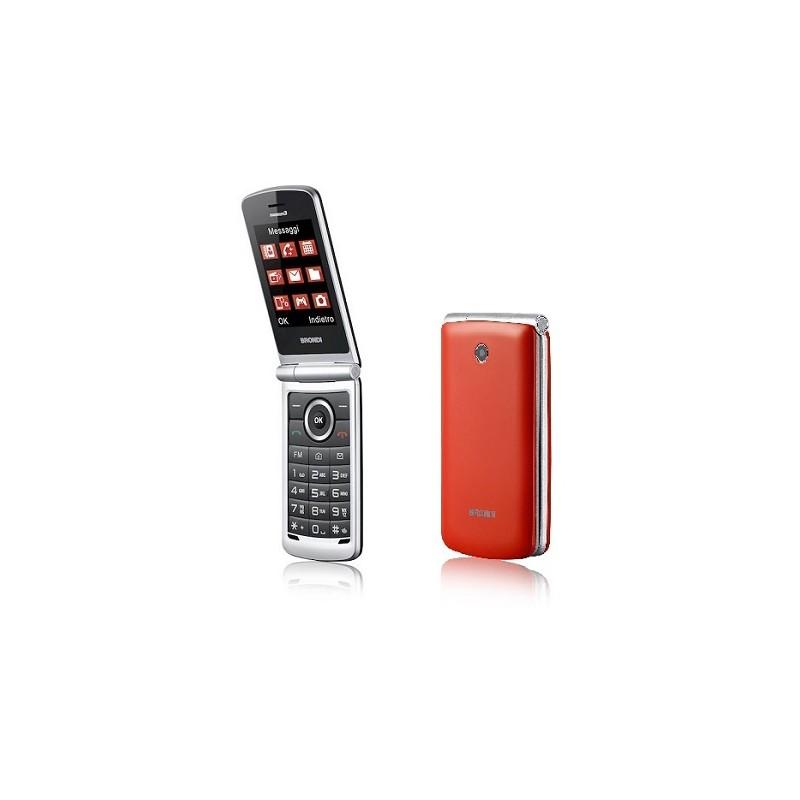 BRONDI MAGNUM 3 ITALIA ROSSO, Apertura a Flip, Display 3 \'\' Quadri Band - Foto 1,3 Mpx, Bluetooth 2.1 - Dual SIM