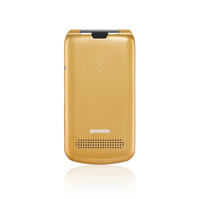 BRONDI PRESIDENT ITALIA ORO Apertura a Flip, Display 3 '' Quadri Band - Foto 1,3 Mpx, Bluetooth 2.1 - Dual SIM