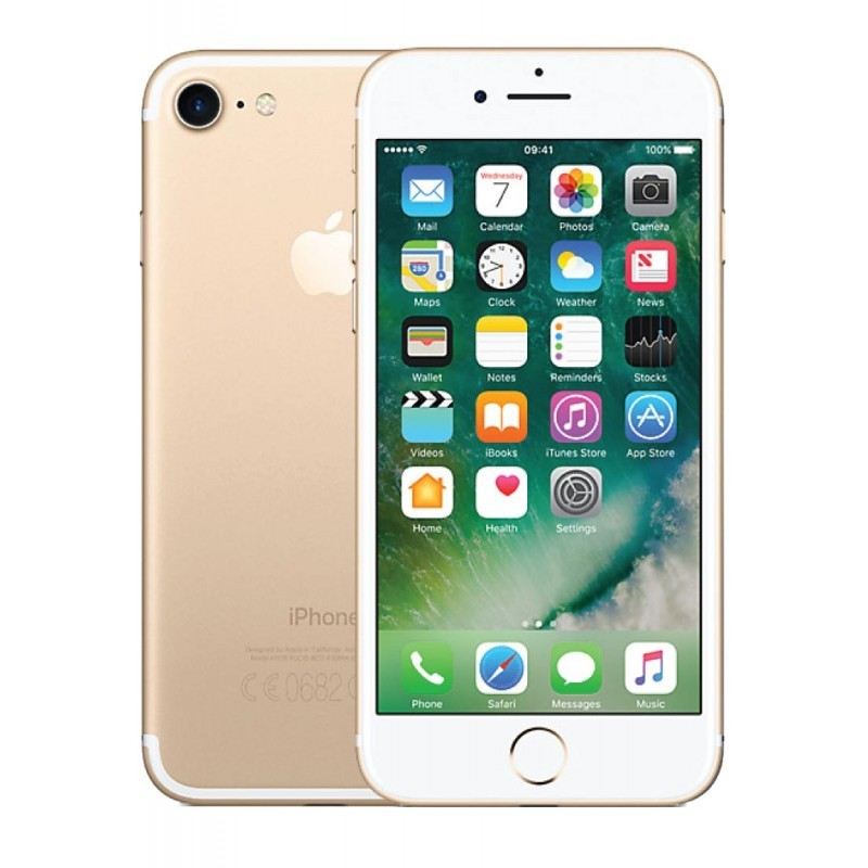 APPLE IPHONE 7 128GB EU GOLD CPO 1 ANNO GARANZIA APPLE UFFICIALE