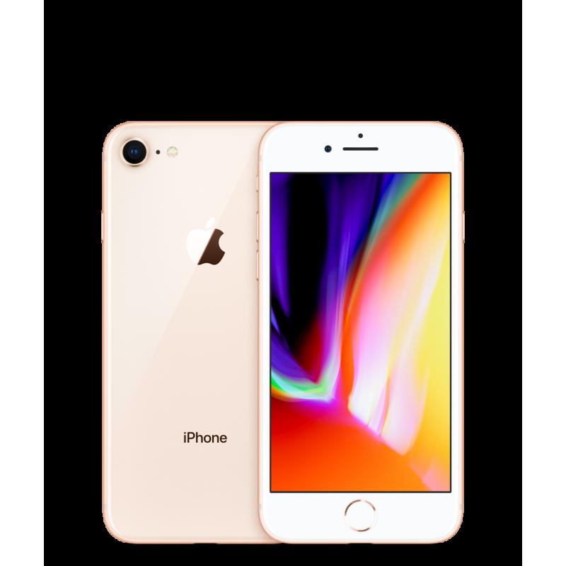 APPLE IPHONE 8 64GB Gold Ricondizionato Grado A+ Solo Telefono
