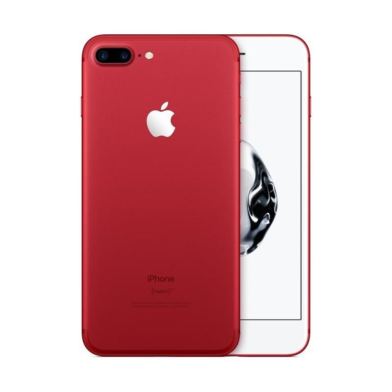 APPLE IPHONE 7 PLUS 128GB RED Ricondizionato Grado A+ Solo Telefono