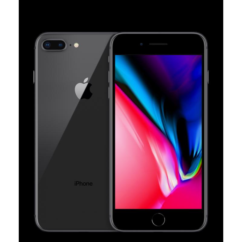 APPLE IPHONE 8 PLUS 64GB Black Ricondizionato Grado A+ Solo Telefono