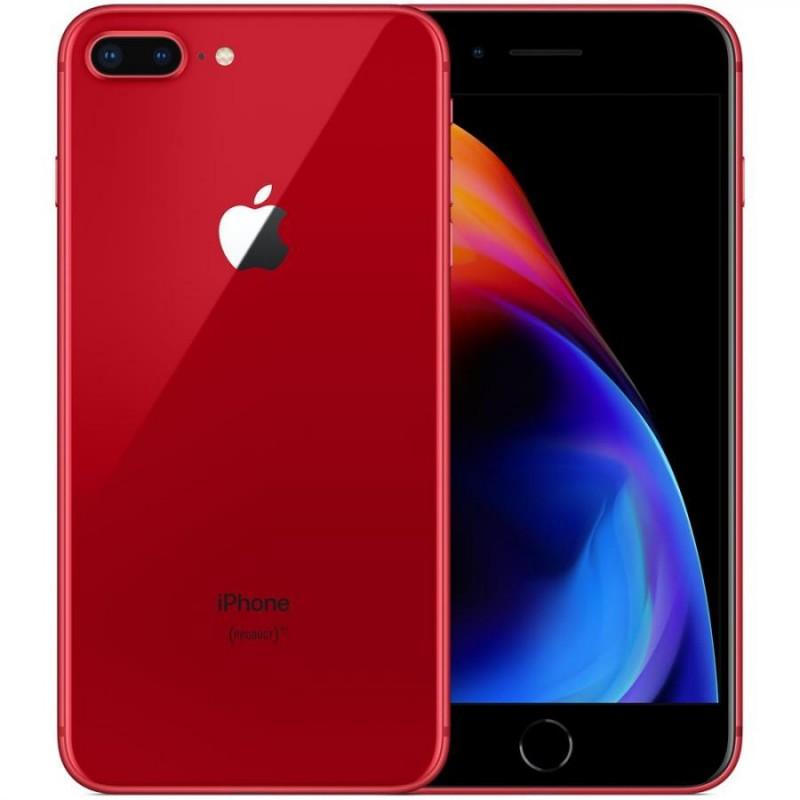 APPLE IPHONE 8 PLUS 64GB Red Ricondizionato Grado A+ Con Scatola (Cuffie Jack 3,5)