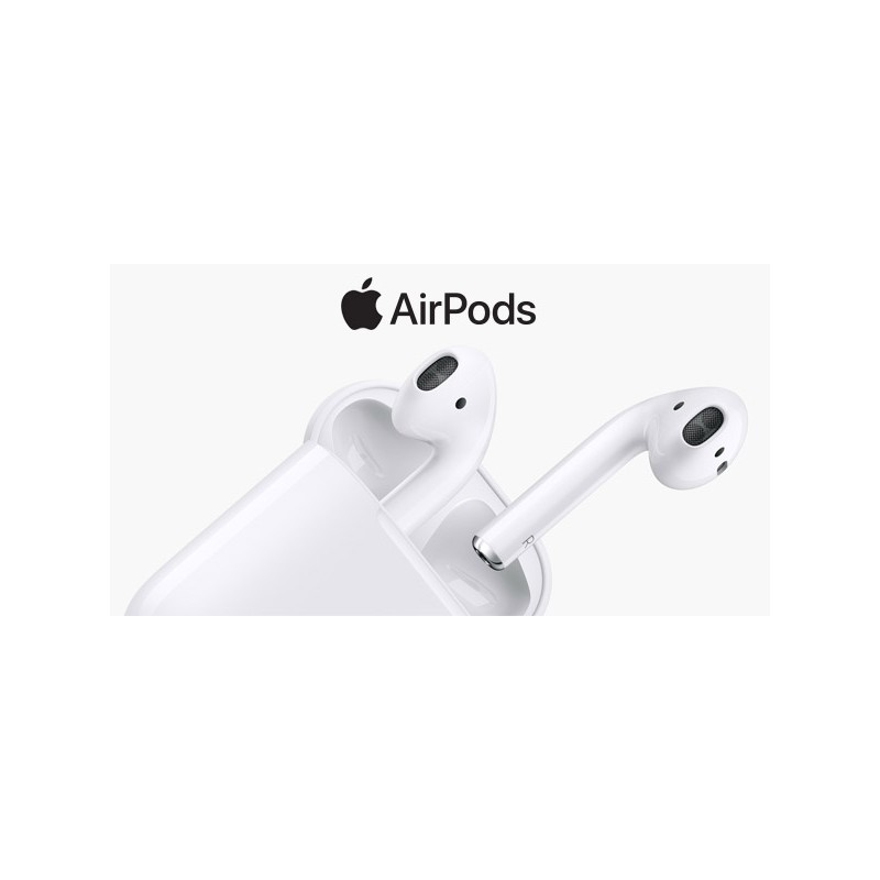 APPLE AIRPODS 2 CON RICARICA WIRELESS MMEF2ZM/A AURICOLARI BLUETOOTH