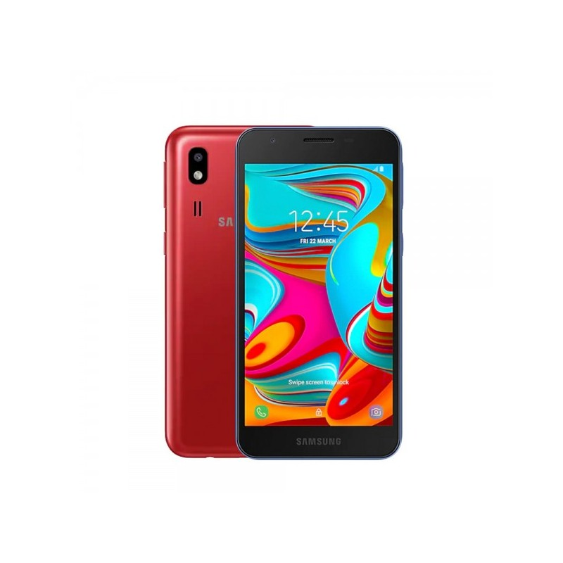 SAMSUNG A2 Core Red DualSim IMPORT S.G. 5 Display 5Mpx Fotocamera 16GB/1GB