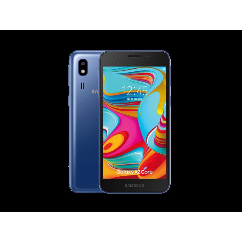 SAMSUNG A2 Core Blue DualSim IMPORT S.G. 5 Display 5Mpx Fotocamera 16GB/1GB