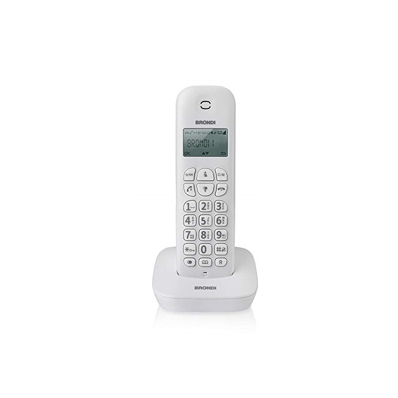 BRONDI GALA BIANCO / GRIGIO TELEFONO CORDLESS