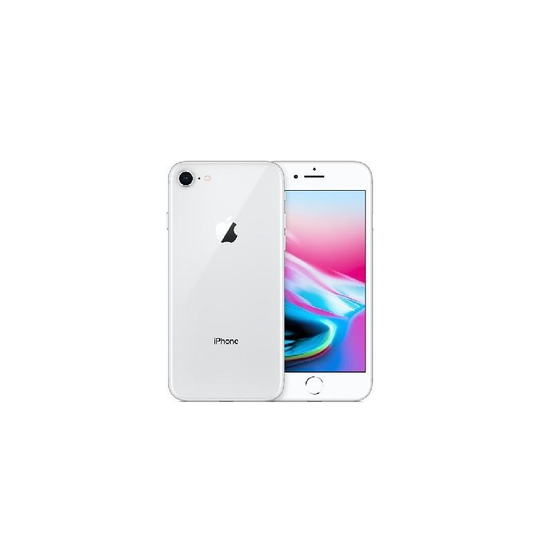 APPLE IPHONE 8 64GB Silver Ricondizionato Grado A+ Con Scatola (Cuffie Jack 3,5)