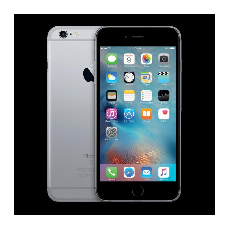 APPLE IPHONE 6S 128GB Grey Ricondizionato Grado AB Con Scatola