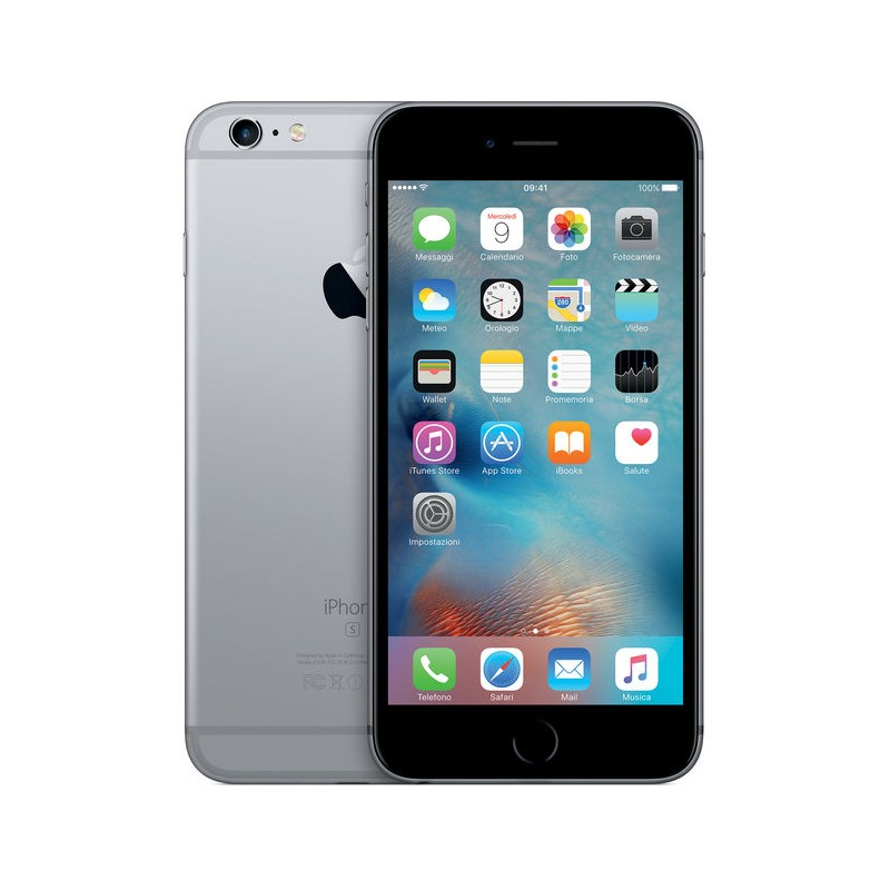 APPLE IPHONE 6S PLUS 128GB Grey Ricondizionato Grado AB Con Scatola