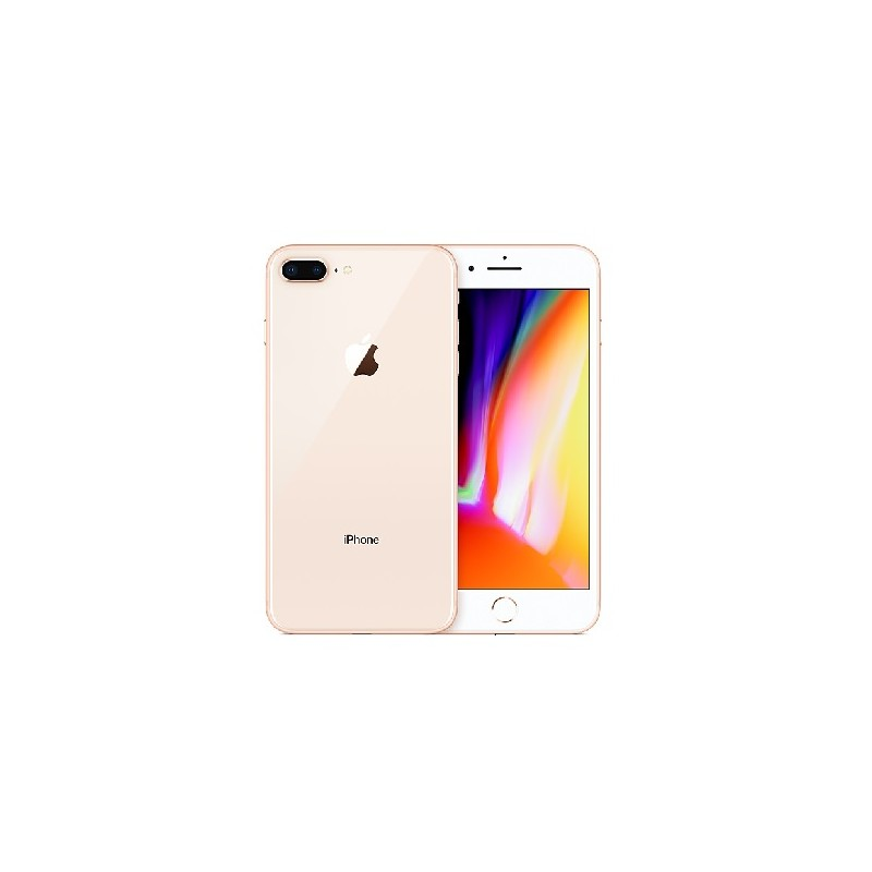 APPLE IPHONE 8 PLUS 64GB Gold Ricondizionato Grado A+ Con Scatola (EarPods Lightning)