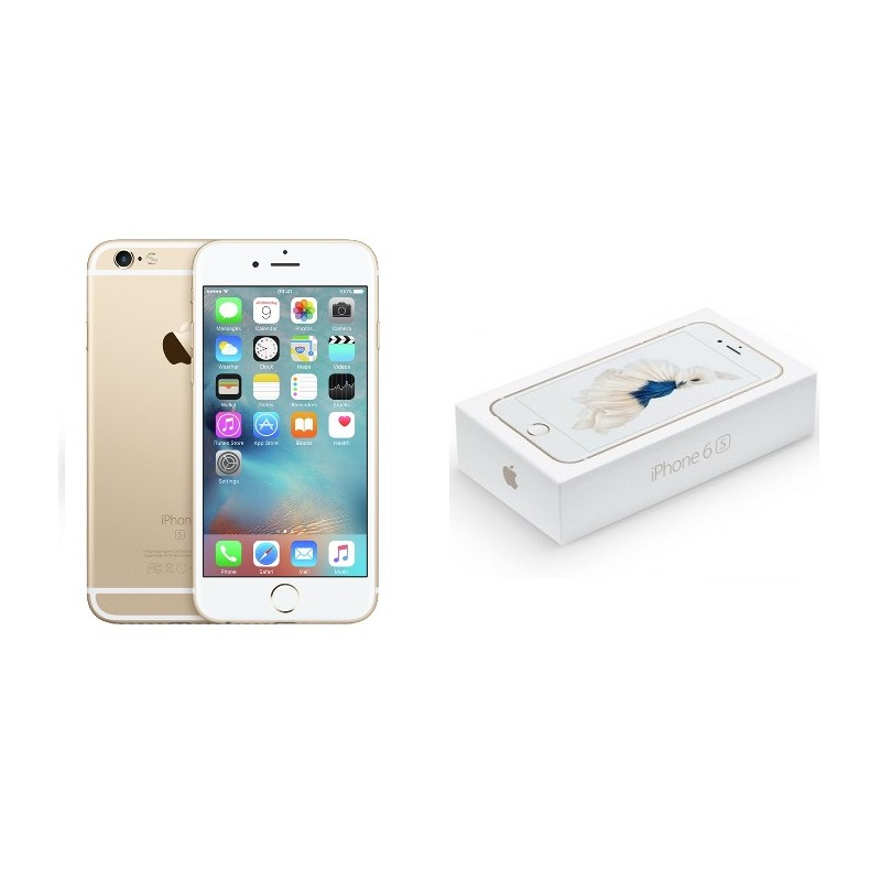 APPLE IPHONE 6S 128GB Gold Ricondizionato Grado A Con Scatola