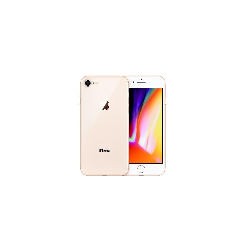 APPLE IPHONE 8 64GB Gold Ricondizionato Grado A Con Scatola (EarPods Lightning)
